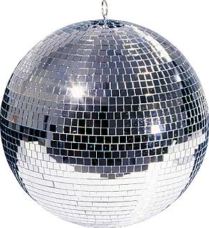 1m Mirror Ball complete with Rotator