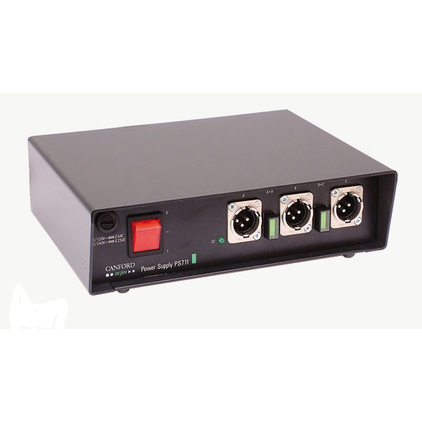 Canford Audio Tech Pro PS711 Headset Power Supply