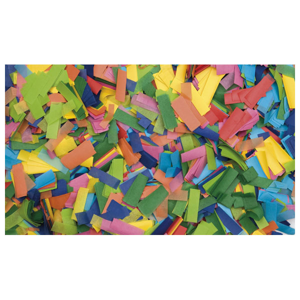 1kg Multicolour Chinese Confetti