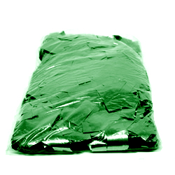 1kg Bag of Green Flutter Chinese Glitter