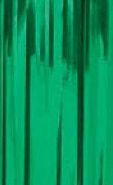 Slit Drape (Slash Curtain) Green