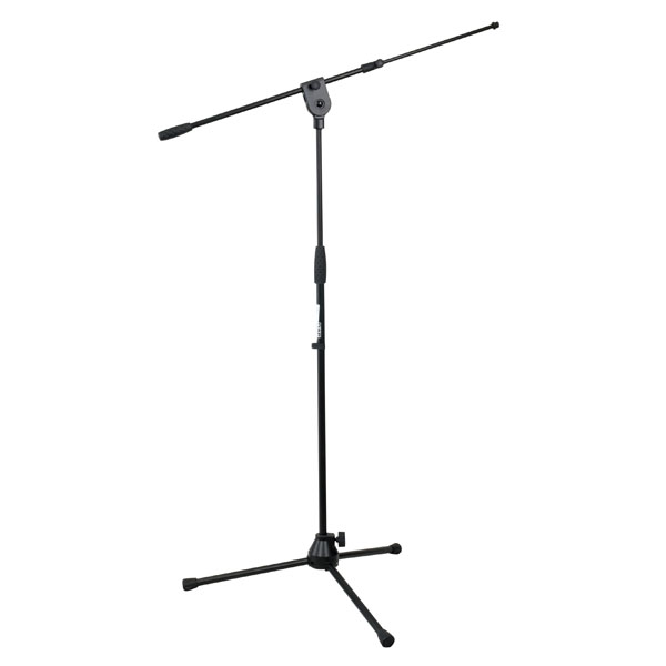 Pro Tall Mic Stand with Telescopic Boom