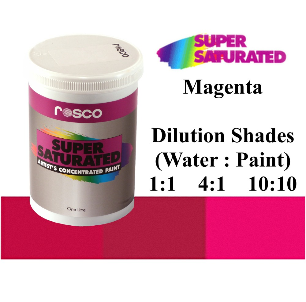 1l Rosco Super Saturated Magenta Paint