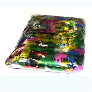 1kg Bag of Multicolour Flutter Chinese Glitter