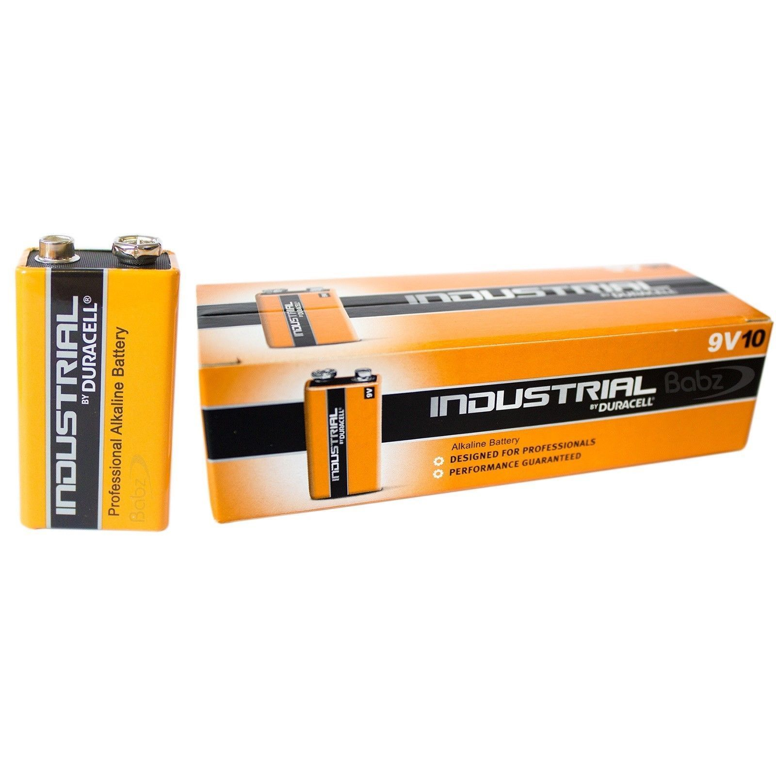 Duracell Procell Industrial MN1604 6LR61 Battery (Pack of 10)