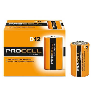 Duracell Procell Industrial MN1300 LR20 D Battery (Pack of 10)