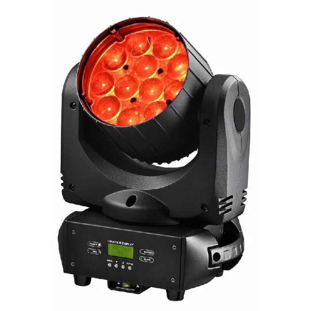 Viking VK1212Z 12 x 12w Beam / Wash Zoom LED Moving Light