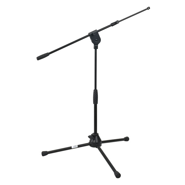 Pro Short Mic Stand with Telescopic Boom